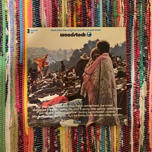 Woodstock 3LP collection vinyl record